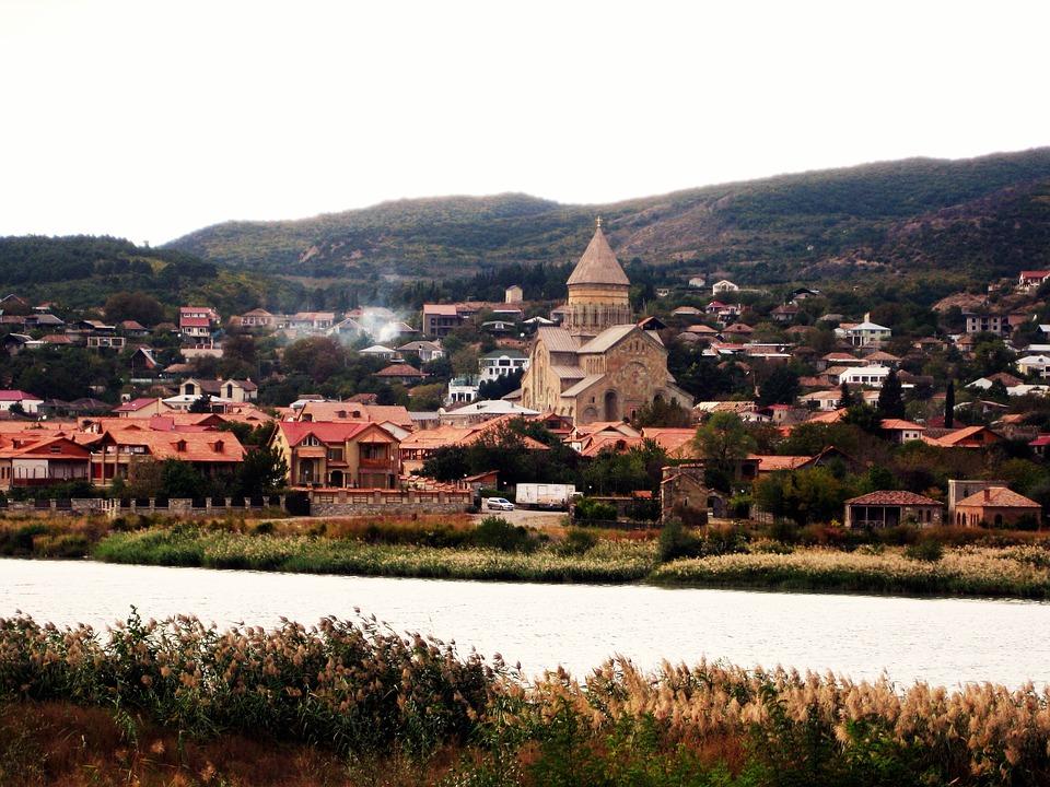البلدة القديمة في جورجيا