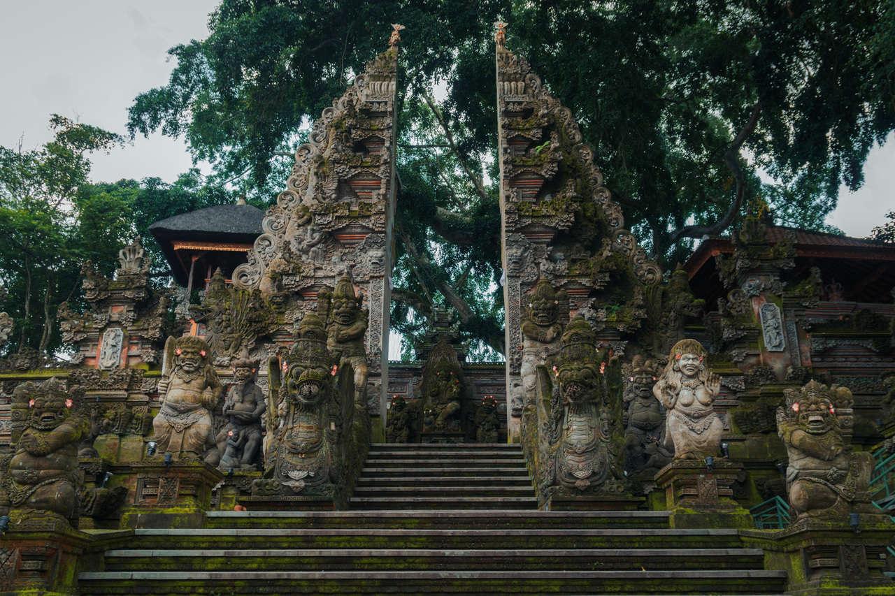 الهندسة المعمارية في بالي